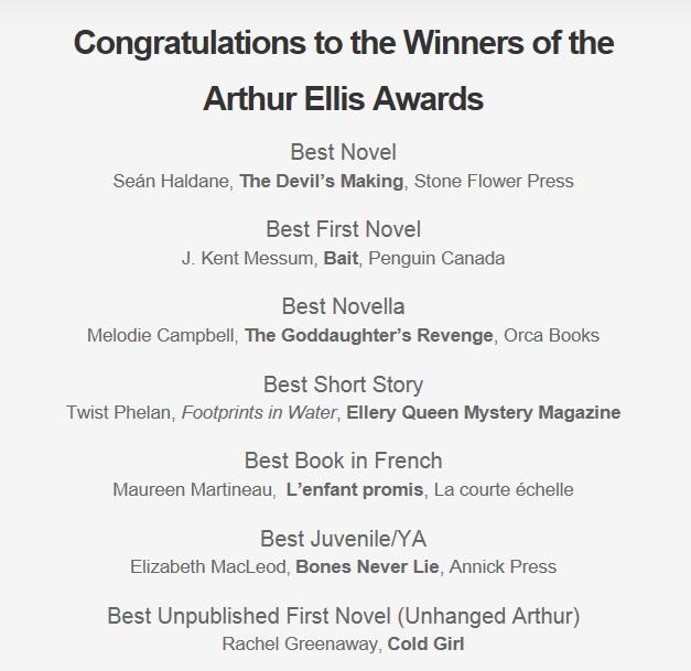 Congrats Arthur 2014