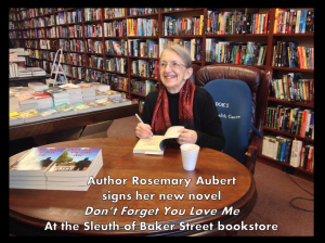Rosemary A Signing