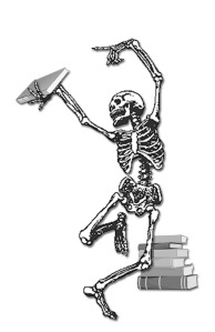 skeleton w book in hand and books in bg final w shadow