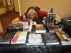 Goth author Jen Frankel