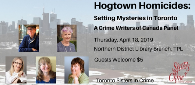 Hogtown Homicides Crime Writers of Canada panel
