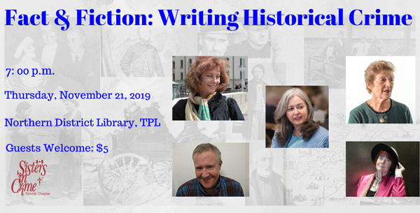 Panel on Historical Crime Writing