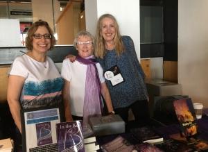 Madona Skaf, Lynne Murphy. Madeleine Harris-Callway
