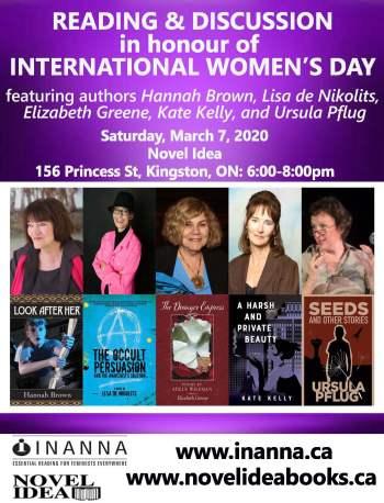 Novel Idea International Women's Day Event