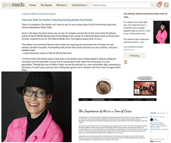 Lisa de Nikolits Blogs